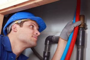 fixing an Anaheim, CA foundation leak by re-routing the plumbing system
